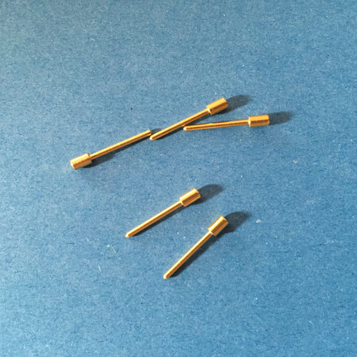 Pack of 5 gold-plated pins for S-type fitting